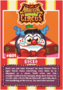 Collector card magnificent moshi circus rocko