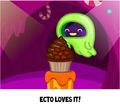 Moshi Cupcakes Ecto caught