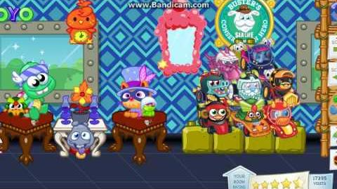Moshi Monsters - Unreleased Moshlings ingame