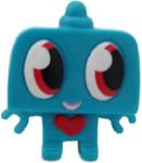 Nipper figure brilliant blue