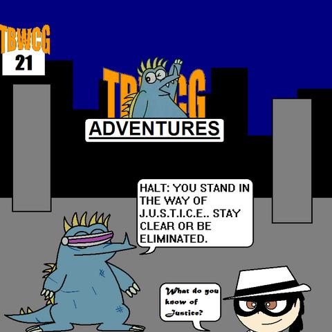 The Boy, or J.U.S.T.I.C.E., encounters the <a href=