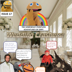 It's the big day! Zippy and Mulder are getting married. However, the wedding crashed by <a href=
