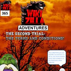 Deathrock9 goes up against another Nightmare Man, this time disguised as the terms and conditions of the third trial. He must read them from start to finish if he is to complete the second trial!