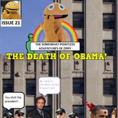 Hungry for revenge after the failure of their previous plan, the Spooky Aliens frame Zippy and Mulder for the death of president Obama.