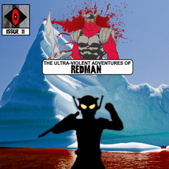 As Redman despairs over the skeleton of his former wife, the action shifts back several years, examining the events before the first issue, and going into detail into Redman and Hayabusa's relationship.