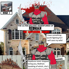 Issue #1, in which Redman returns to his house after being thawed out. He discovers from <a href=
