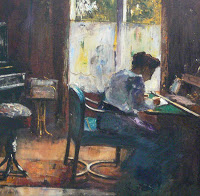 WomanwritingPainting