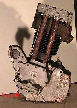 Sarolea 31R Motor rechts