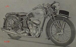 Sarolea 37 T6 1937 600 ccm