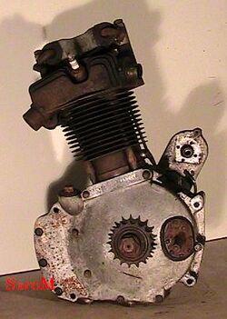 Sarolea 31R Motor links