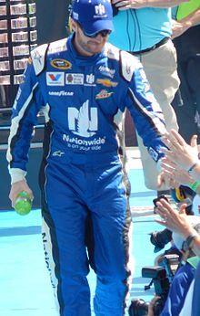 File:Dale Earnhardt Jr. at the Daytona 500.JPG