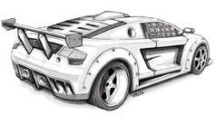 Msa-sketch-supercar