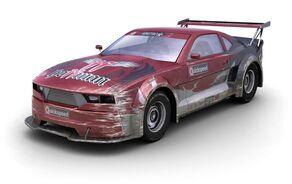 Motorstorm apocalypse conceptart musclecar