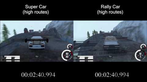 BeamNG.Drive - Super Car vs Rally Car