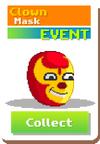 Pollos Banditos - Clown Mask