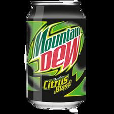 MountainDew CitrusBlast 33cl blik