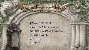 TLD Title Screen