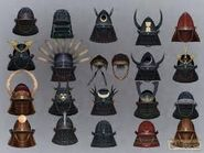 Shogun helmets