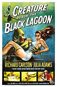File:Creature from the Black Lagoon poster.jpg