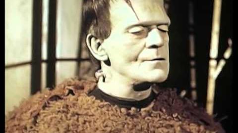 Son of Frankenstein Boris Karloff Color Test