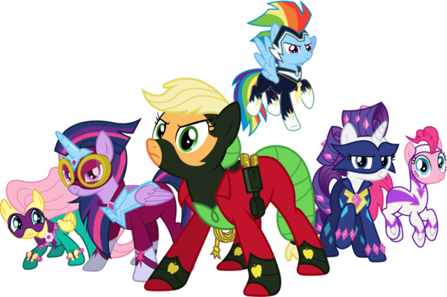 File:The power ponies by 90sigma-d6z8d2y.png