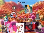 Carmen Spanish poster