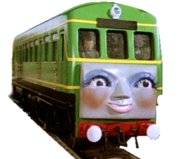 Daisy the Diesel Railcar