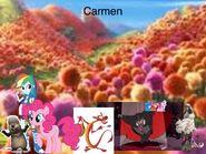 Carmen Japanese poster