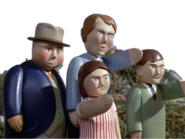 The Fat Controller and his family