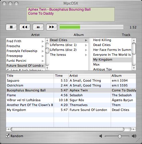 MpcOSX-screenshot