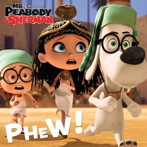 File:Mr. Peabody and Sherman Phew.jpg