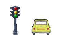 Traffic-light mr bean