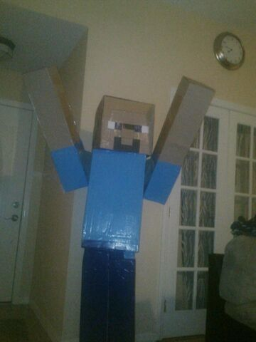 File:Steve (Minecraft Halloween Costume).jpg