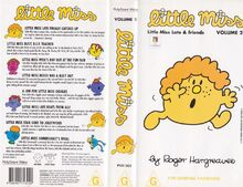 Little Miss Late and friends VHS