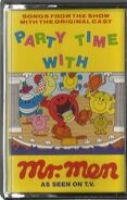 Party Time With the Mr Men cover