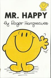 Mr Happy cassette cover
