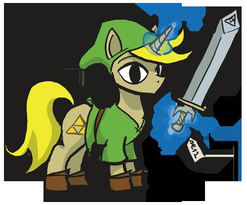 File:23312 - artist theartrix legend of zelda Link ponified Wind Waker.png