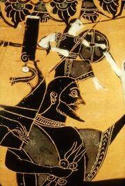 Vase - Birth of Athena