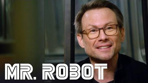 MR. ROBOT - Christian Slater - Behind the Scenes Interview
