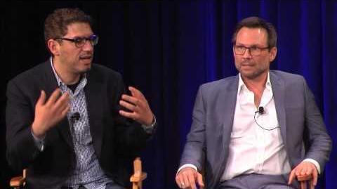 "Christian Slater & Sam Esmail ""USA's Mr"
