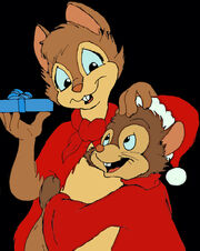Brisby and fievel by sirquacky-d5odd2o