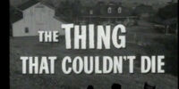 MST3K 805 - The Thing That Couldn't Die