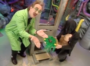 MST3k Manos- The Mads Chocolate bunny guillotine invention exchange