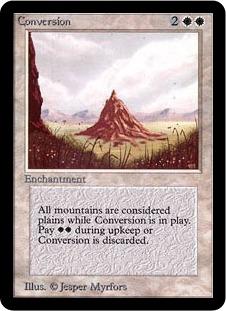 Conversion 1E