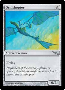 Ornithopter MRD