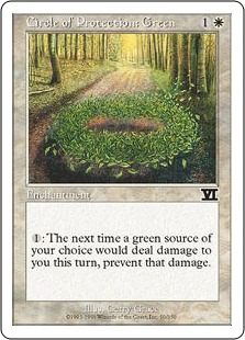 Circle of Protection Green 6E