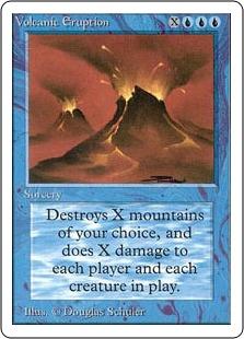 Volcanic Eruption 2U
