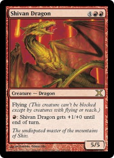 Shivan Dragon 10E