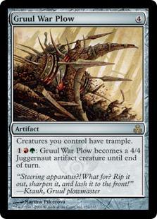 Gruul War Plow GPT
