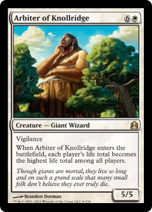 Arbiter of Knollridge CMD